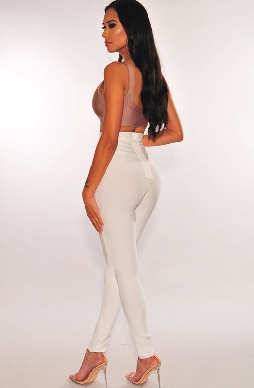 WAIST-SNATCHED-White-Bandage-High-Waist-Belted-Pants-4