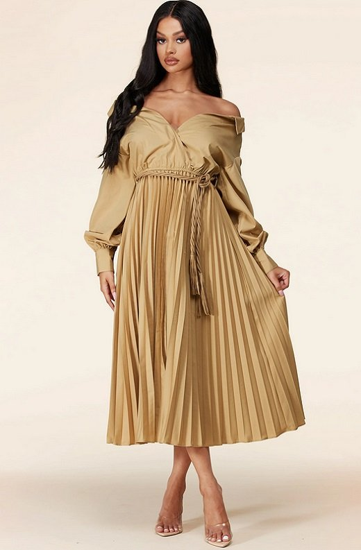 Sexiest Tie-Waist Dress