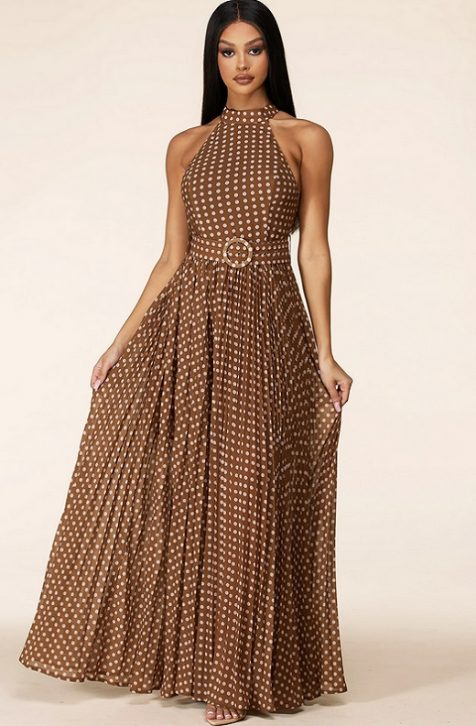 Hot Maxi Dress for Womens